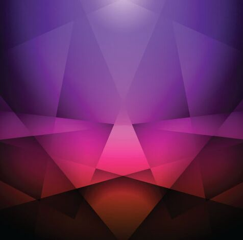 Violet Geometric Background Vector