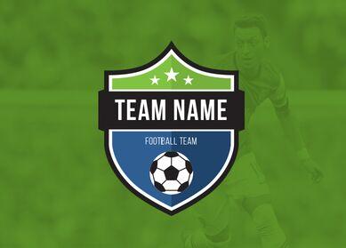 Free Football Club Football Team Logo Vector Template Titanui