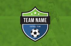 Football Club & Football Team Logo Vector Template