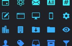 20 Dashboard Icons Vector