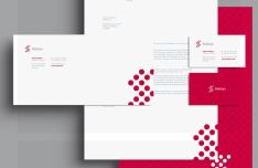 Clean Branding & Stationary Mockup Set PSD