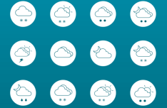 24+ Weather Line Icons Vector