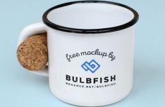 Minimal Coffee Mug Mockups PSD
