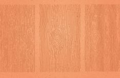 3 Hand Drawn Wood Textures Vector