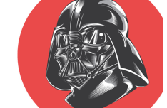 Star Wars Darth Vader Vector Illustration