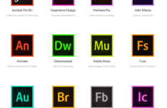 20 Adobe CC 2015 App Icons