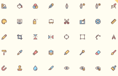 40 Design Icons Vector