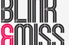 Blink Display Font