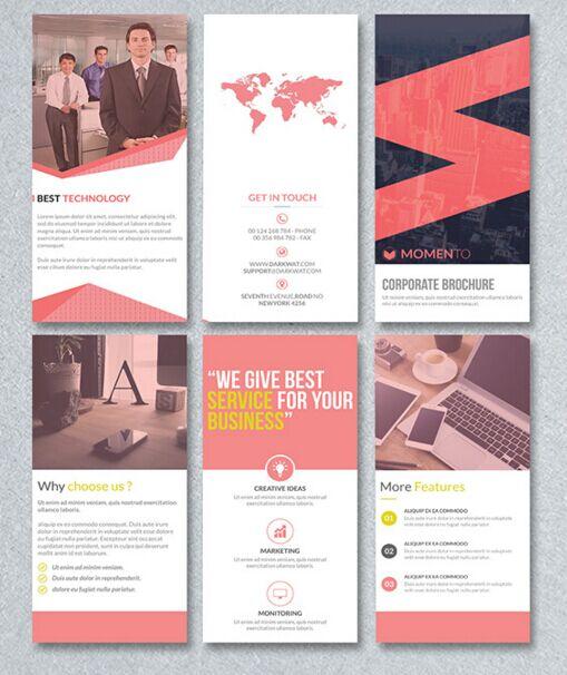 Free Corporate Trifold Brochure Psd Template Titanui