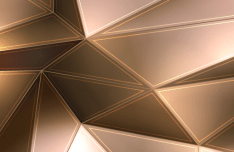 Elegant Particle & Geometric Background Vector #4