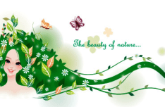 The Beauty Of Nature Vector