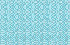 Seamless Blue Vector Pattern