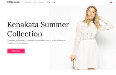 Modern E-commerce PSD Template