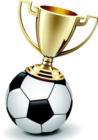 Football Champions Trophy Vector