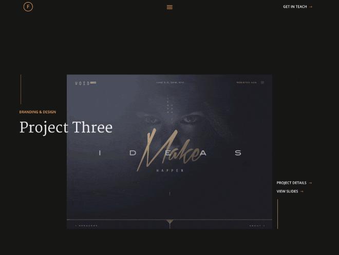 Fusion Portfolio Website PSD & HTML Template