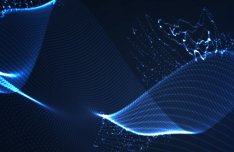 3D Abstract Lines Vector Background #7