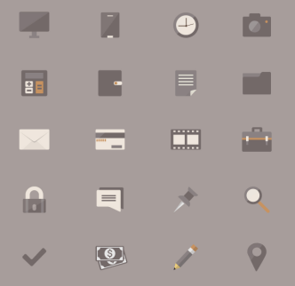 20 Business Vector Icons