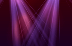Graceful Stage Spotlight Vector #1