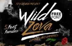 Wild Zova Font