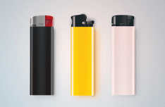 Realistic Lighters PSD
