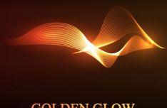 Golden Grow Vector Background #2