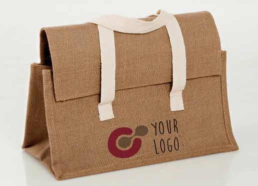 Raw Cloth Bag PSD Mockup