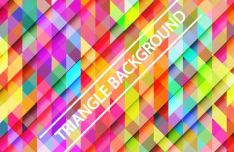 Gradient Triangle Vector Background 02