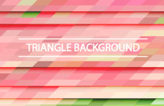 Gradient Triangle Vector Background 04