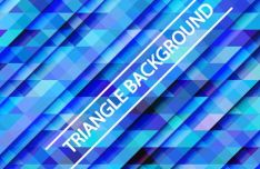 Gradient Triangle Vector Background 05