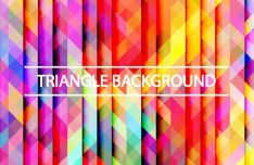 Gradient Triangle Vector Background 06