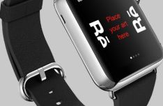 Realistic Apple Watch PSD Mockups
