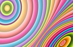 Colorful Spiral Vector Background #10
