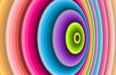 Colorful Spiral Vector Background #2