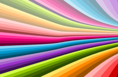 Colorful Spiral Vector Background #4