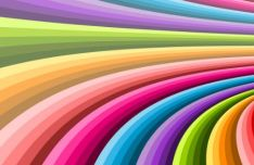Colorful Spiral Vector Background #7