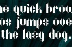 Maddox Gothic Font