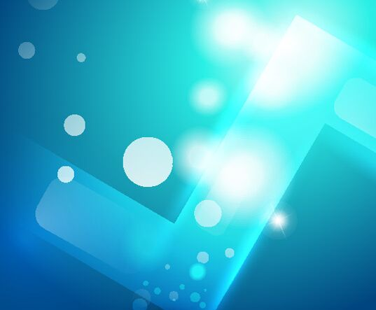 Blue Abstract Vector Background #1