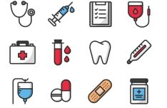 12 Medical Vector Icons