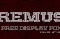 remus-vector-font