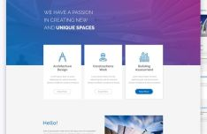 archi-next-one-page-web-template