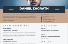 minimal-elegant-resume-cv-psd-template