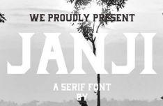 janji-typeface