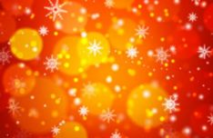 bokeh-snowflake-vector-background-1