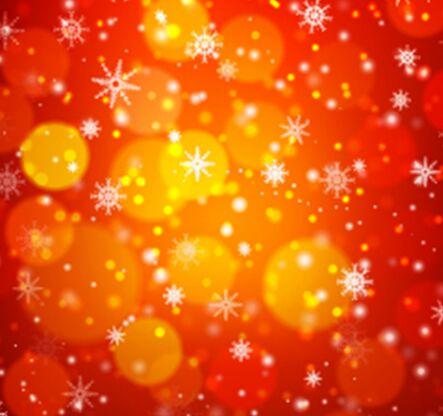 bokeh-snowflake-vector-background-1