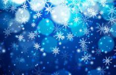 bokeh-snowflake-vector-background-2