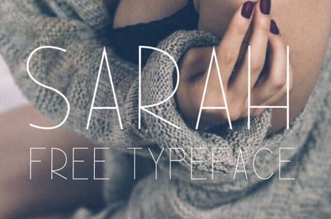 fashion-sarah-tyepface