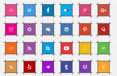 Multi-Format Social Media Icons