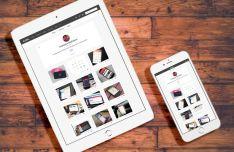 iPad And iPhone On Desk Mockup PSD