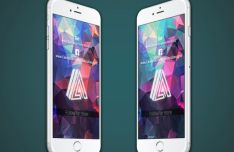 7 High Quality iPhone PSD Mock-ups