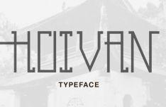 HoiVan Font